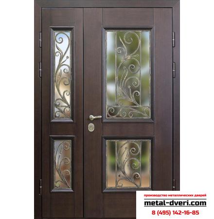 Металлическая входная дверь с ковкой ДК3
