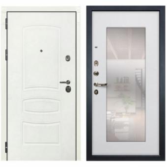 Металлическая входная дверь с зеркалом ДЗ-1