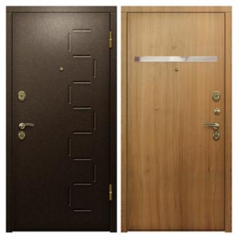 Дверь металлическая входная порошок 10