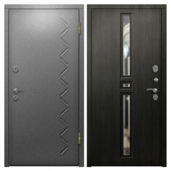 Металлическая входная дверь с порошковым напылением П-11