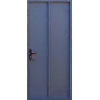 Металлическая входная дверь с порошковым напылением П-12
