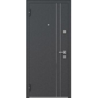 Входная металлическая дверь с покрытием шелк   ДШ-2