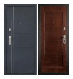 Металлическая дверь ПВХ-3