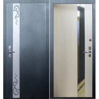 Металлическая входная дверь с зеркалом ДЗ-14
