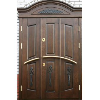 Металлическая входная дверь массив ДМ8
