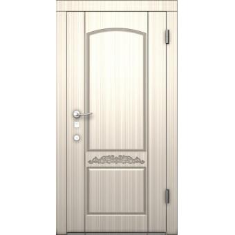 Стальная входная дверь с зеркалом 18