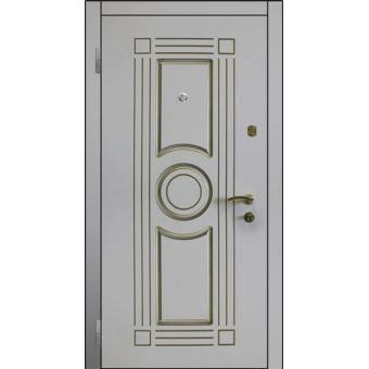 Дверь металлическая входная МДФ12