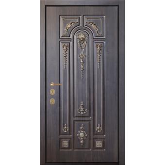Дверь металлическая входная МДФ13