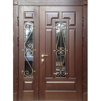 Металлическая входная дверь с ковкой ДК2