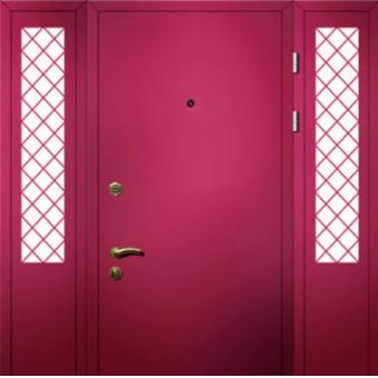 Тамбурная металлическая дверь ТТД6