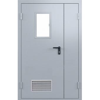 Дверь металлическая противопожарная ТПП3 - полуторная