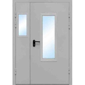 Дверь металлическая противопожарная ТПП5-двупольная