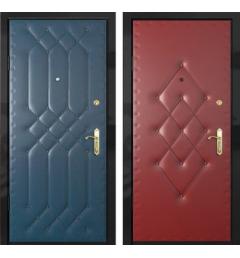 Дверь металлическая дутая ВД4
