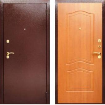 Дверь входная металлическая эконом-1