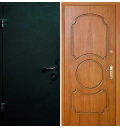 Металлическая входная дверь с окрасом НЦ-2