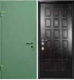 Металлическая входная дверь с окрасом НЦ-3