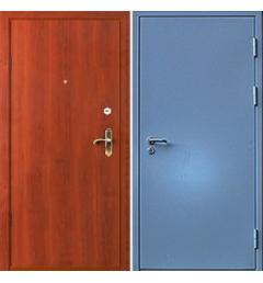 Металлическая входная дверь с окрасом НЦ-4