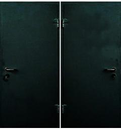 Металлическая входная дверь с окрасом НЦ-7