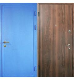 Металлическая входная дверь с окрасом НЦ-8