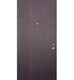 Металлическая входная дверь с порошковым напылением под дерево 10