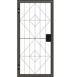 Стальная решетчатая дверь РД-4