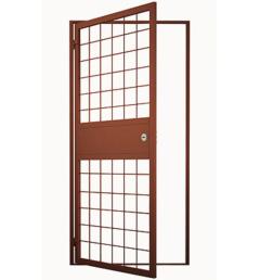 Стальная решетчатая дверь РД-6