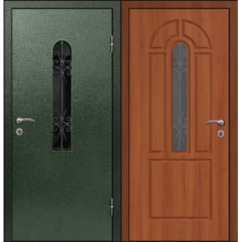 Дверь металлическая входная порошок 7