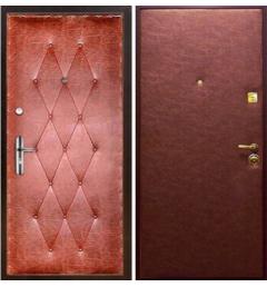 Дверь входная металлическая винилискожа - В5