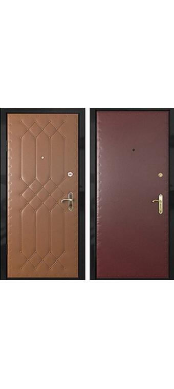 Дверь входная металлическая винилискожа - В2